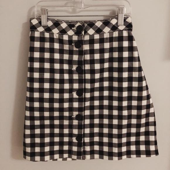 Divided Dresses & Skirts - Divided Checkered Mini Skirt